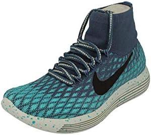 Nike Free RN Flyknit Women's Running Shoes Ocean Fog Bright