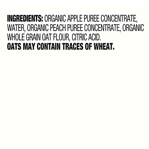 41OgW8zDYLL - Earth's Best Organic Stage 2 Baby Food, Apple Peach And Oatmeal, 4.2 Oz. Pouch (Pack Of 12)