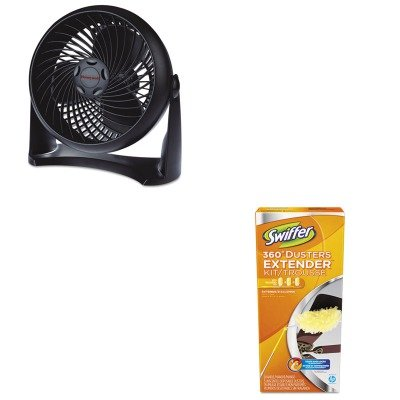 KITHWLHT900PAG82074 - Value Kit - Honeywell Super Turbo Three-Speed High-Performance Fan (HWLHT900) and swiffer duster with extend hndl (PAG82074) (Turbo Super Fan Table)
