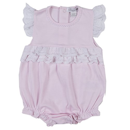 Kissy Kissy Baby Girls Rose Garden Bubble - Pink-6-9mos - Kissy Kissy Bubble