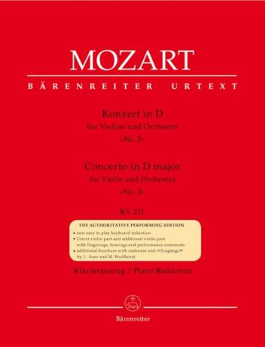 Mozart: Violin Concerto No. 2 in D Major, K. 211 (Concerto No 2 Mozart Violin)