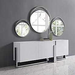 Kitchen Whiteline Modern Living Modern Blake Buffet/Server/TV Stand/Cabinet White modern buffet sideboards