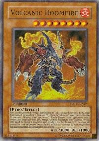 Yu-Gi-Oh! - Volcanic Doomfire (CT04-EN004) - 2007 Collectors Tins - Limited Edition - Secret - Limited Collectors Edition Tin