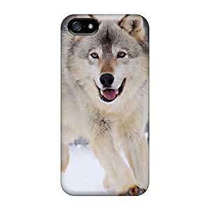 New Premium LelXfaP1095Kldyx Case For Iphone 4/4S Cover Gray Wolf Minnesota Protective Case Cover