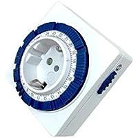 Silver Electronics 49402 Programador analógico 24 Horas Compacto