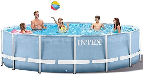 Intex 10 Feet x 30 Inches Prism Frame Above-Ground Swimming Pool (Open - Pool Framed Swimming