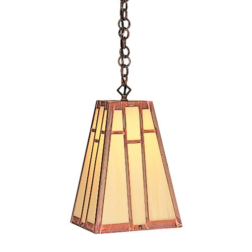 Craftsman Hanging Porch Light