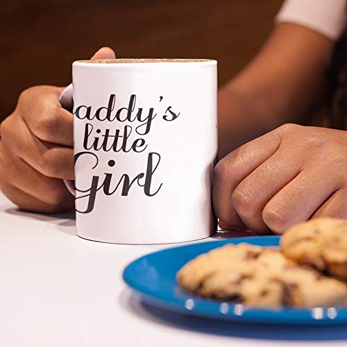 Father's Day Gift from Daughter Daddy's Little Girl Princess Mug - Lil Babygirl or Submissive Sex BDSM Sexual Gift Woman Girlfriend Wife