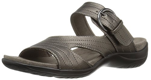 Easy Street Women's Flicker Flat Sandal Pewter uFaZ2VMy