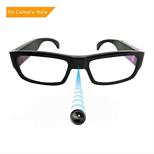 Spy Camera Glasses,1080P Spy Glasses with Hidden Camera,Mini Wearable Glasses Camera Video Recording Glasses Loop, Snapshot, USB ()