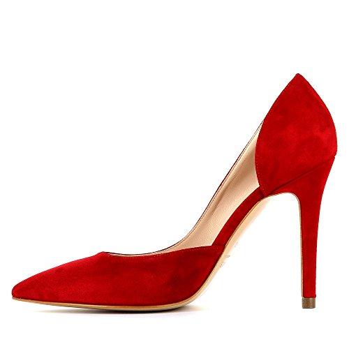Evita Shoes Alina - Zapatos de vestir de Piel para mujer Rojo