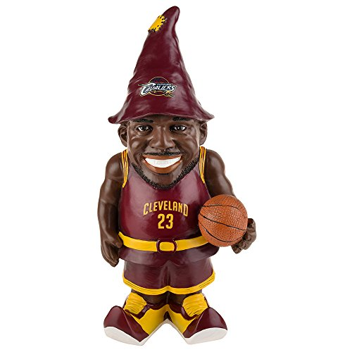 Cleveland Cavaliers James L. #23 Resin Player Gnome