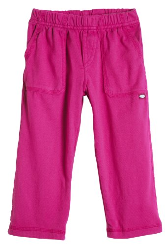 City Threads Baby Boys' and Girls' Soft Jersey Tonal Stitch Pant Perfect for Sensitive Skin SPD Sensory Friendly Clothing - Hot Pink 6-9 ()