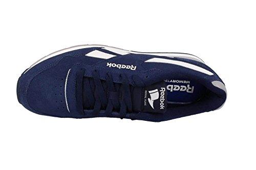 Reebok Royal Glide, Zapatillas de Deporte para Hombre Azul (Collegiate Navy / Tin Grey / White)