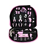 Tool Kit. Best Portable Small Basic Starter Professional Household DIY Hand Mixed Repair Set W/Storage Bag For Home, Garage, Office For Women. Includes Screwdriver, Pliers, Hammer, Etc.