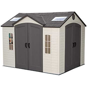 Lifetime 60001 Outdoor Storage Shed, 10 by 8 Feet