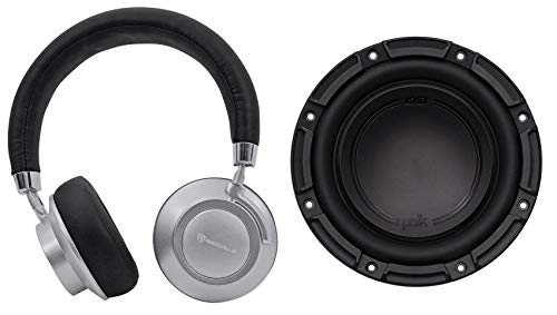 Polk Audio DB842SVC 8 750 Watt Car/Marine Boat Audio Subwoofer Sub+Headphones by Polk Audio