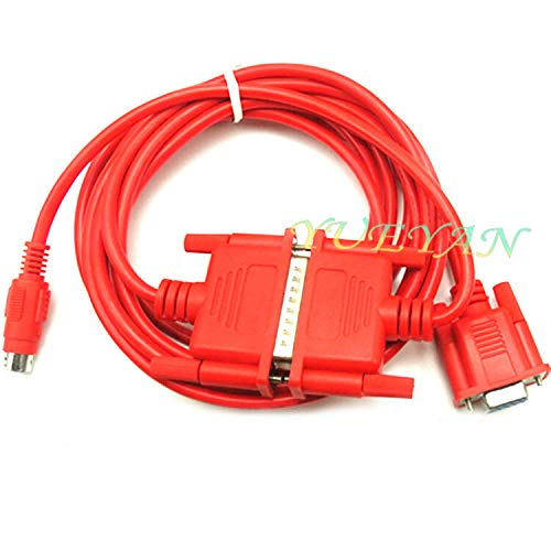 FidgetFidget 2M SC09 SC-09 Programming Cable for Mitsubishi PLC MELSEC FX&A Series