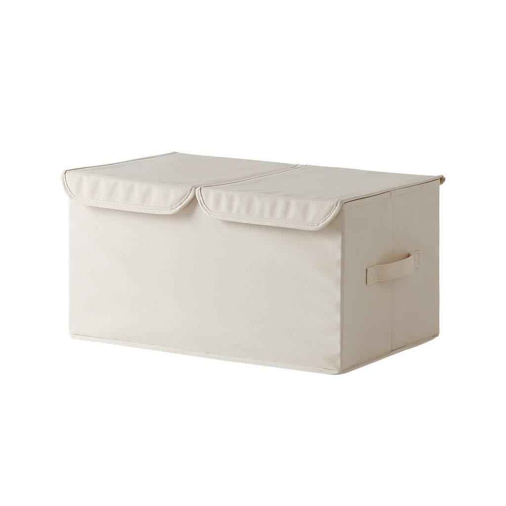 Scatola di immagazzinaggio, scatola di immagazzinaggio del tessuto della doppia scatola di immagazzinaggio degli indumenti di vestiti della scatola di rifinitura della scatola di rivestimento dei vestiti OYY Manufacture®