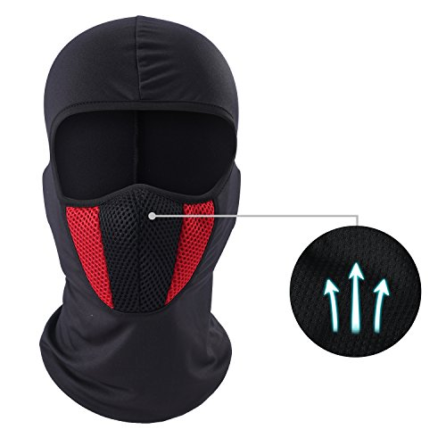 Windproof Balaclava - Dust & Breathable Summer Sun Mask for Cycling, Hiking, Motorcycle by LONGLONG