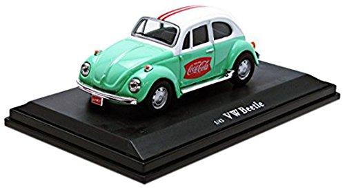 Motor City Classics 1966 Green Volkswagen Beetle - Vintage Volkswagen Beetle