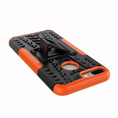 Caja antideslizante al aire libre Sport Back para Huawei Honor 9 Lite ( Color : Black ) Orange