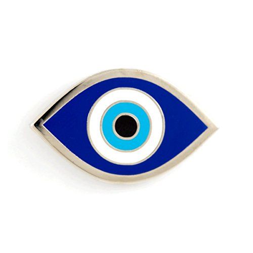 These Are Things Evil Eye Enamel Pin