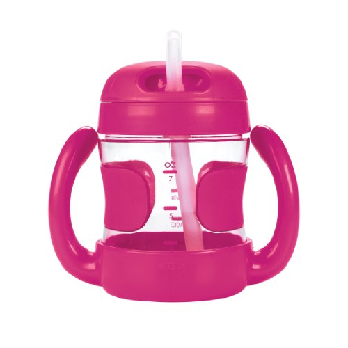 OXO Straw Handles Pink Ounce