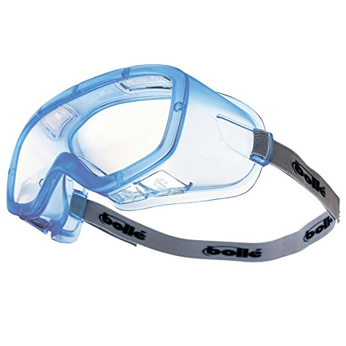 (Bolle Safety Clear OTG Goggles, Anti-Fog, Scratch-Resistant)