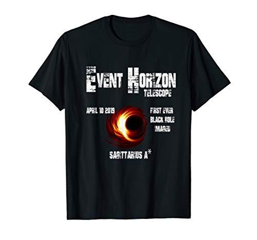 Price comparison product image Event Horizon Telescope Sagittarius Black Hole T-Shirt
