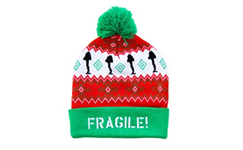 A Christmas Story Hat (A Christmas Story Fragile! Lamp Adult Cuff Pom)
