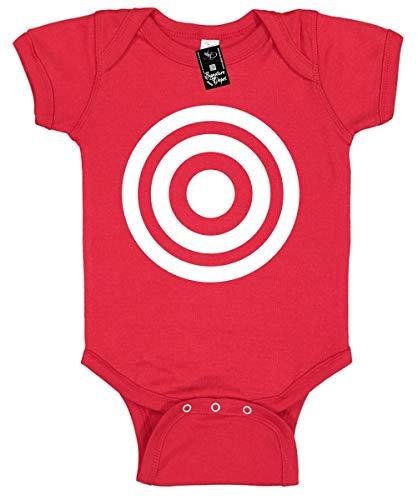 Signature Depot Infant Funny Baby Onesie Unisex T-Shirt Size 12 (Bulls Eye (Target Image)