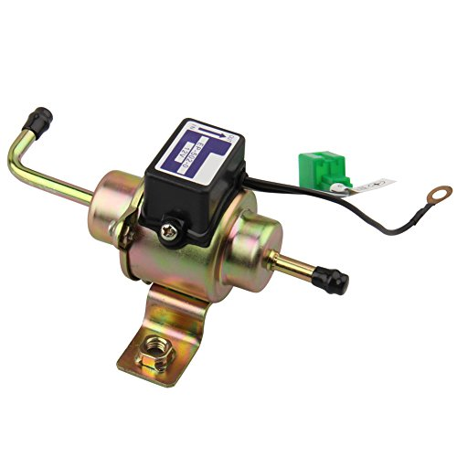 CarBole 12V Universal Low Pressure Gas Diesel Electric Fuel Pump 1/4 Tubing 3-5 ()