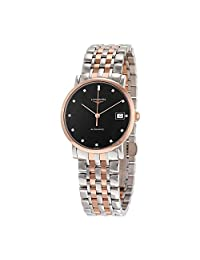 Longines Elegant Steel and 18K Rose Gold Automatic Ladies Watch L48095577