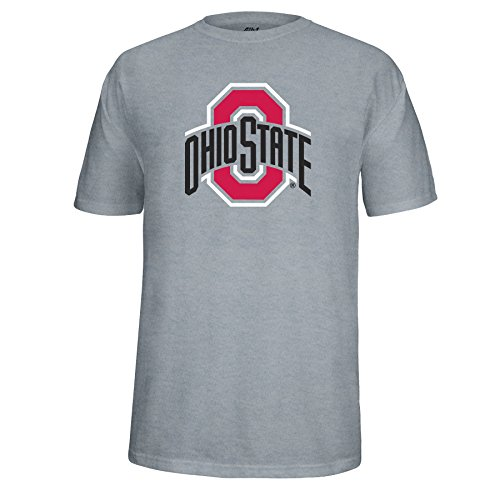 NCAA Adult Ohio State Buckeyes Athletic O Choice Tee, Medium, Oxford (Osu Vs U Of O Civil War)
