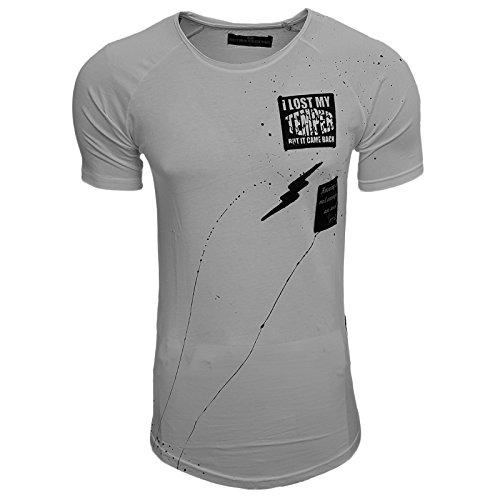 Rusty Neal Herren T-Shirts T-Shirt weiß weiß XX-Large