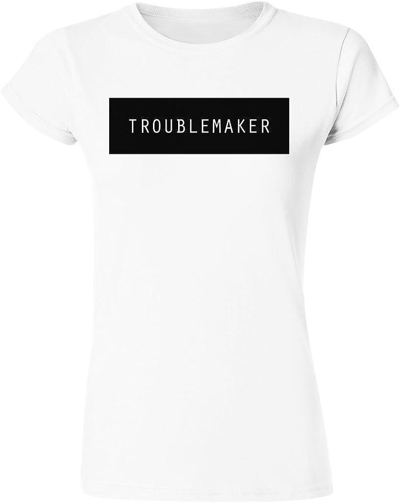 IDcommerce Troublemaker Minimalism Womens T-Shirt