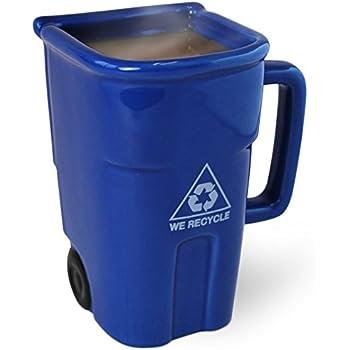 BigMouth Inc The Recycling Bin Mug