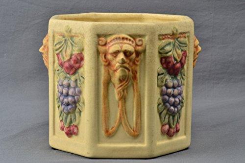 Weller Pottery Planter, 1914-1920's Roma Hexagon Planter