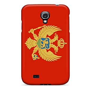 Galaxy S4 Case Cover Montenegro Flag Case - Eco-friendly Packaging