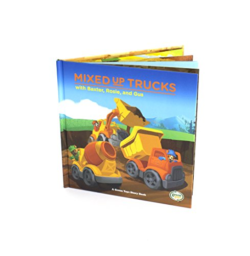 Green Toys Mixed-Up Trucks with Baxter, Rosie & Gus Book