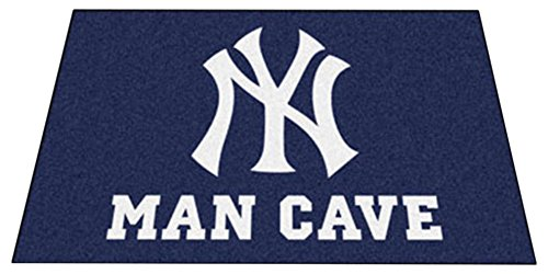 Fanmats 22446 MLB-New York Yankees Man Cave Ultimat Rug by Fanmats (Image #1)