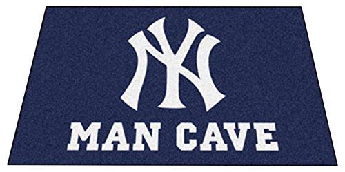 Fanmats 22446 MLB-New York Yankees Man Cave Ultimat Rug