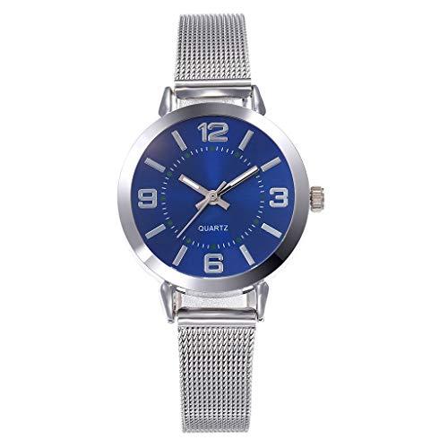 Mesh Bracelet Watch Londony❀♪Creative Simplicity Women Watch Mesh Band Elegant Watches Ladies Business Wristwatch