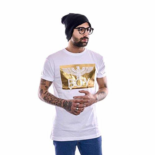 T-shirt Uomo Boy London Xl Bianco Bl637 1/7 Primavera Estate 2017