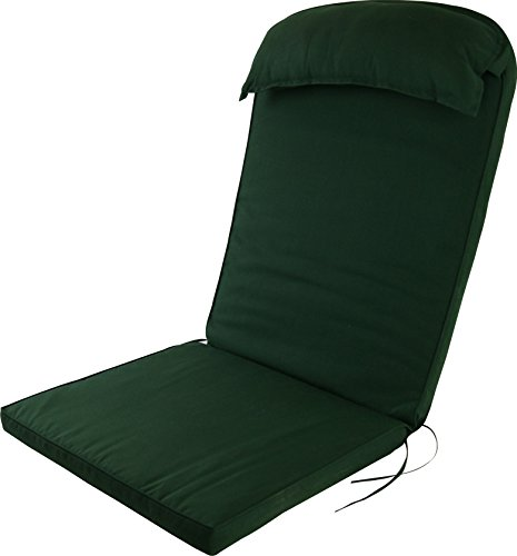 Adirondack Chair Pad - Plant Theatre Adirondack Chair Luxury High Back Cushion with Head Pillow