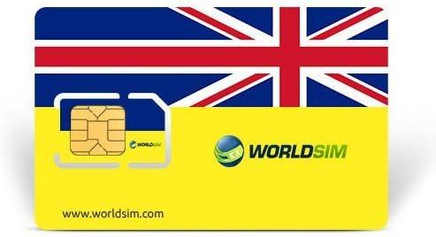 WorldSIM UK Tarjeta SIM: Amazon.es: Electrónica