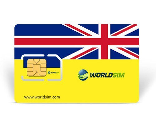 Worldsim UK Carte SIM