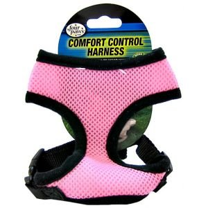 (Comfort Control Harness Size: Small, Color: Pink)