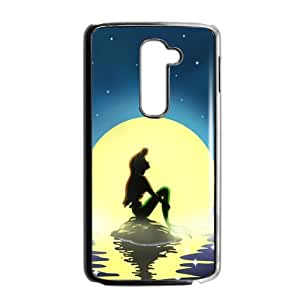 LOVE-Store Ariel The Little Mermaid Cell Phone Case for LG G2 by runtopwell